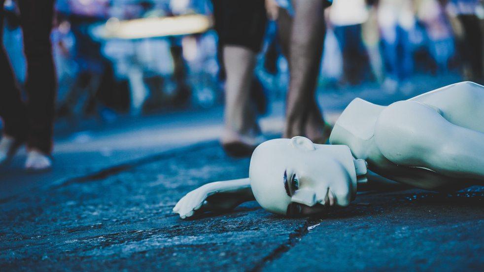 broken mannequin