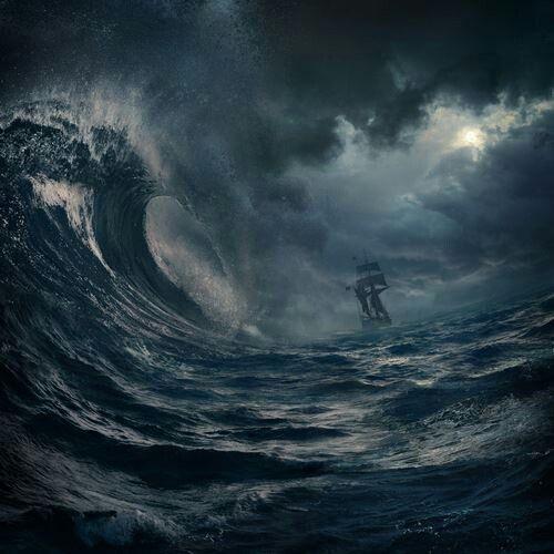 stormy sea 1