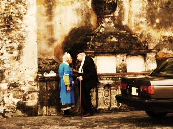old couple in mexico